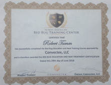 Orlando Bed Bugs - Equipment Certification.  Extermination of bed bugs isn't easy- Technicians must be properly trained... Bed Bugs Florida is!